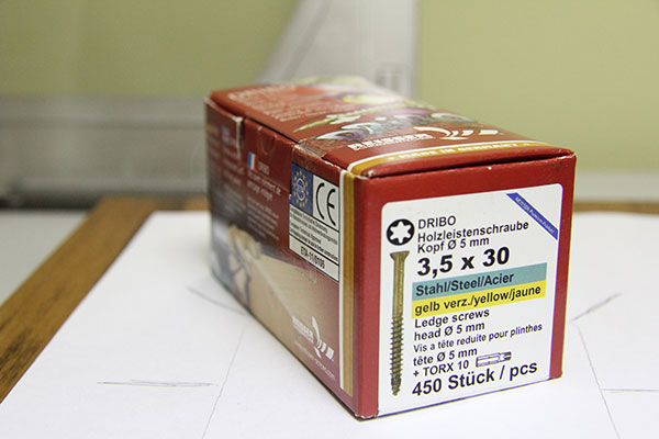 Саморезы Dribo 3.5x30мм